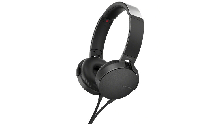 sony on ear kuulokkeet mdr xb550 musta